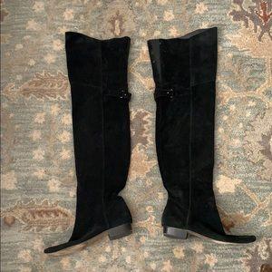 Joie OTK Italian Suede Leather Boots Sz 8 (38)